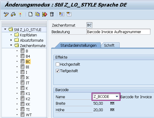 Barcodes in SAP Smartforms