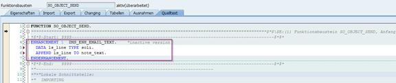 Senden von SAPscript Formularen