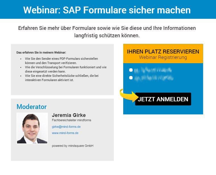 Webinar: SAP Formulare