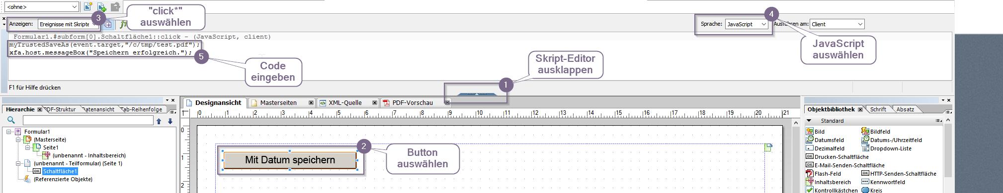 Adobe Formular