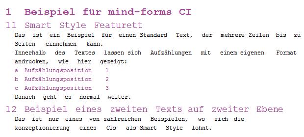 Smartform Styles
