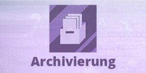 SAP Archivierung von Archivelink