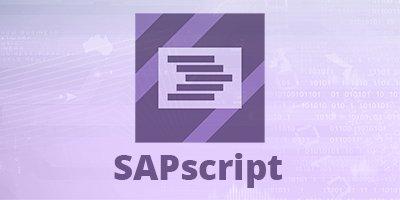 SAPscript