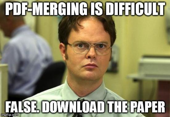 PDF-Merging