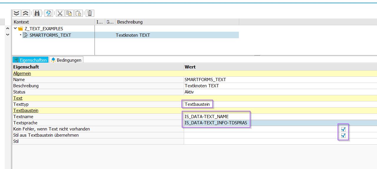 Textbausteinverwendung In Adobe Forms
