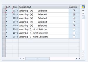 OID2, Zuordnung der Auftragspapiere zu Auftragsarten