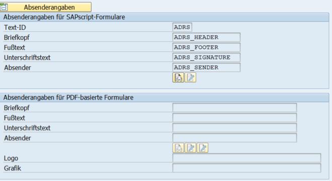 Customizing von FI Formularen