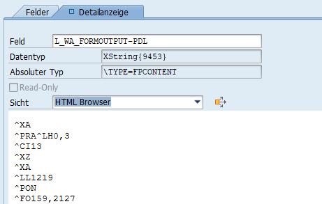 ZPL ASCII Debugger