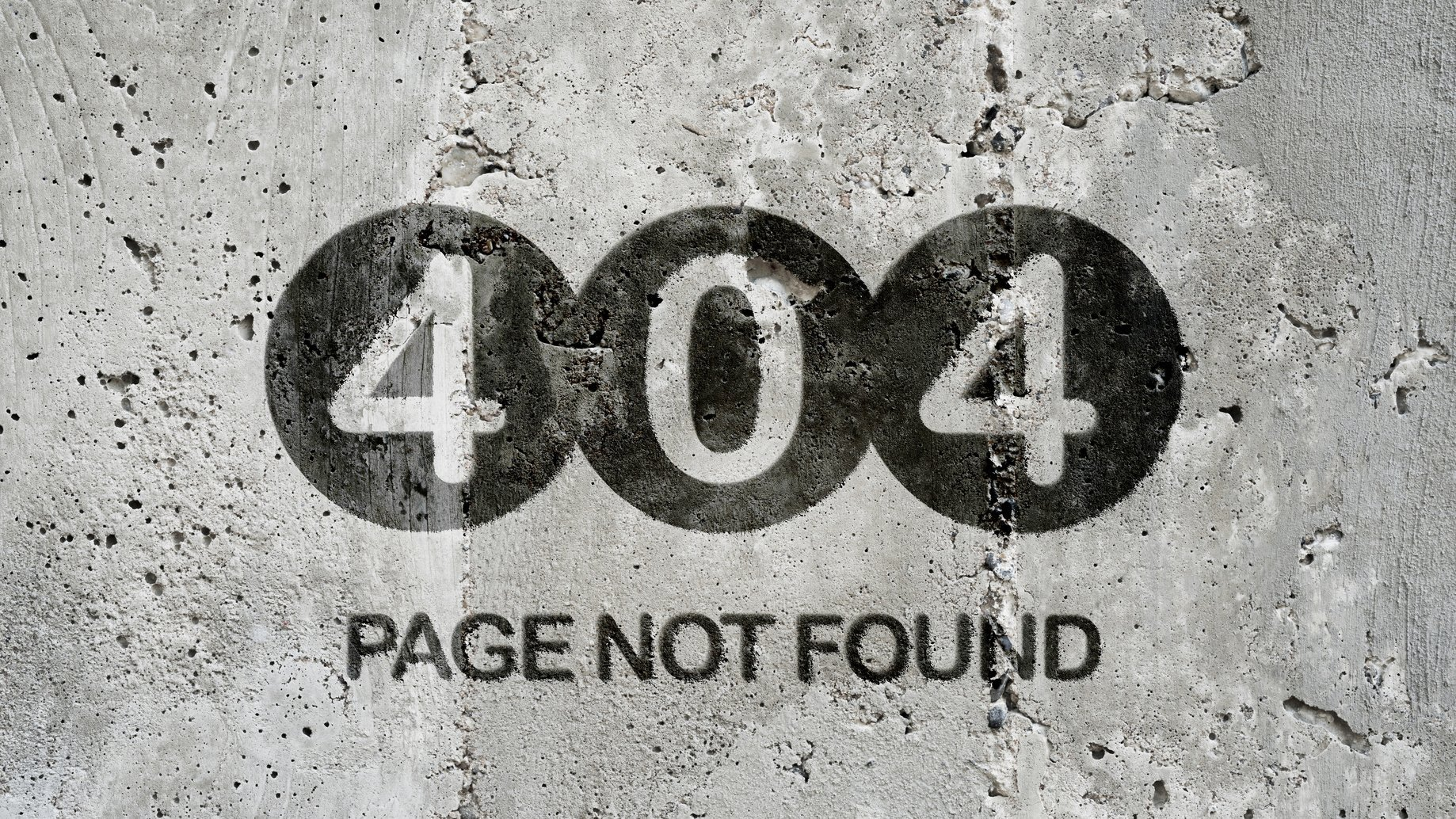 Page not found – 404
