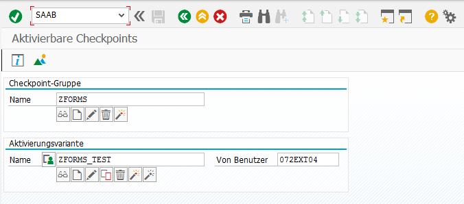 Komfortabel mit Adobe Forms arbeiten per Checkpointgruppe