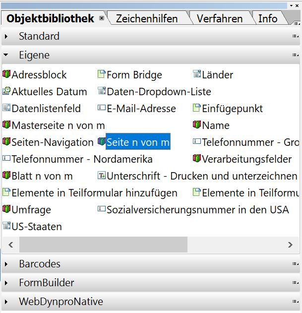 Seitenzahl im Adobe Formular