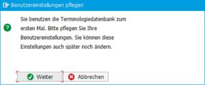 Übersetzungen für SAP-Begriffe
