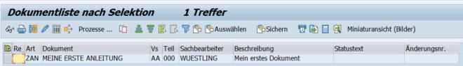 SAP Dokumentenmanagement