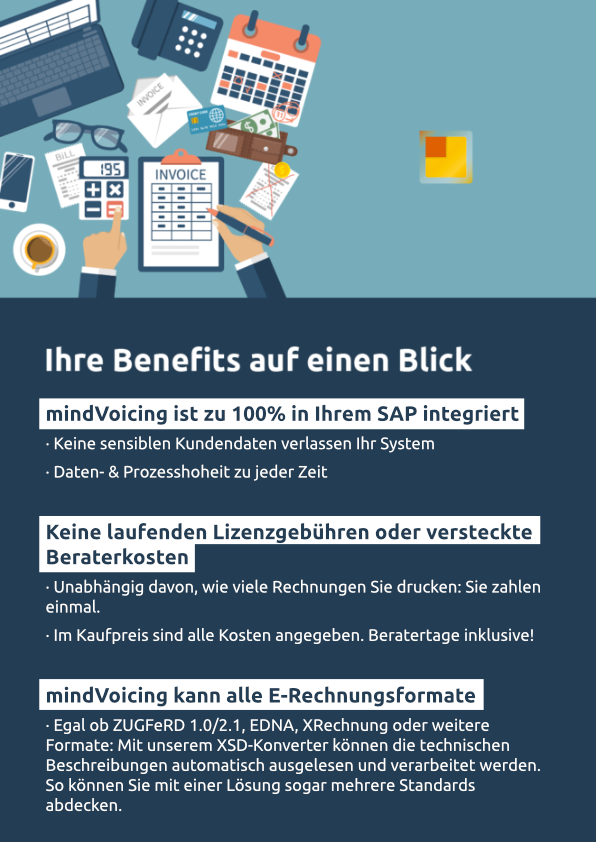 E-Rechnungslösung für SAP